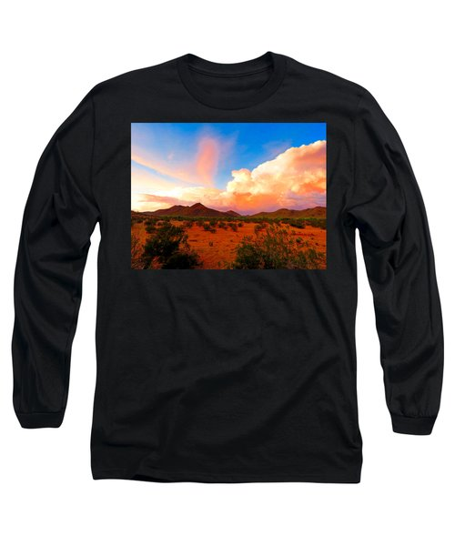Monsoon Storm Sunset Long Sleeve T-Shirt