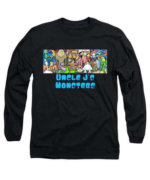 Monster Banner Long Sleeve T-Shirt