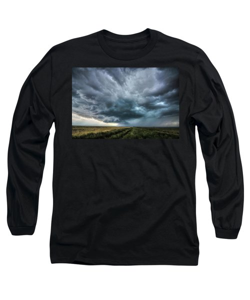 Montana Thunderstorm Long Sleeve T-Shirt