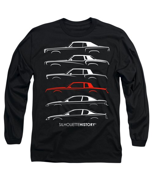 Monte Carlo Sport Silhouettehistory Long Sleeve T-Shirt