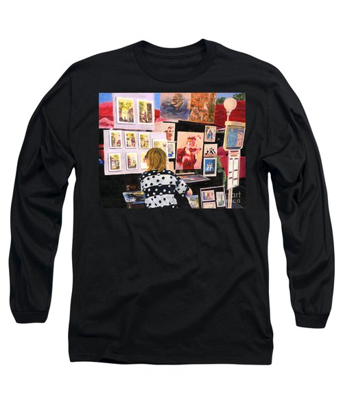 Montmartre Circa 1977 Long Sleeve T-Shirt