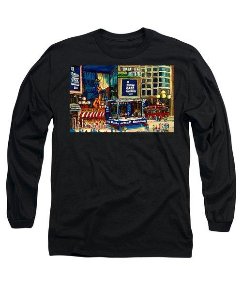 Montreal International Jazz Festival Long Sleeve T-Shirt