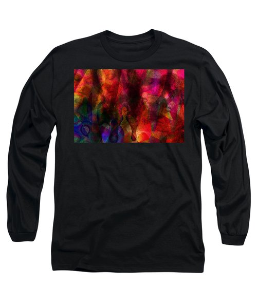 Moods In Abstract Long Sleeve T-Shirt