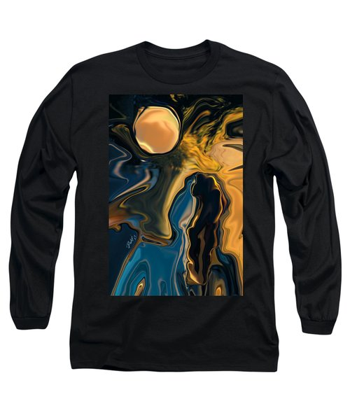 Moon And Fiance Long Sleeve T-Shirt