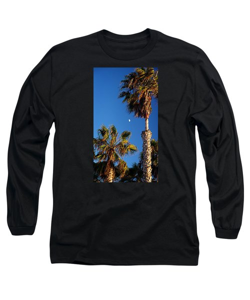 Moon And Palms Long Sleeve T-Shirt