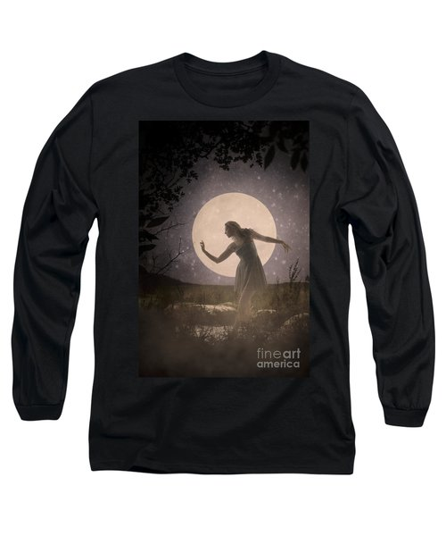 Moon Dance 001 Long Sleeve T-Shirt