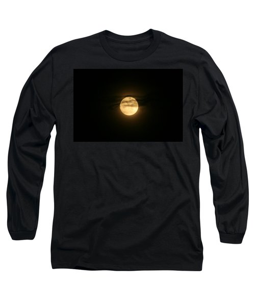 Long Sleeve T-Shirt featuring the digital art Moon Dance by Barbara S Nickerson