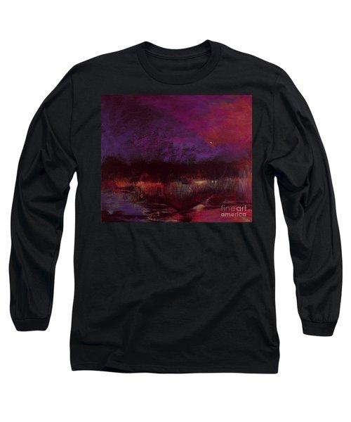 Moon Glow 5-6-11 Julianne Felton Long Sleeve T-Shirt