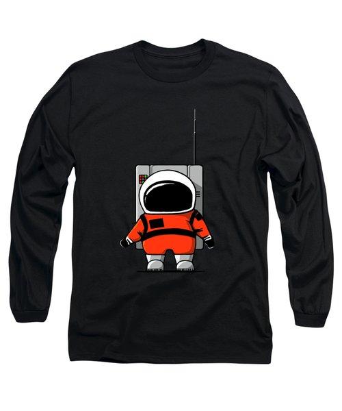 Moon Man Long Sleeve T-Shirt by Nicholas Ely