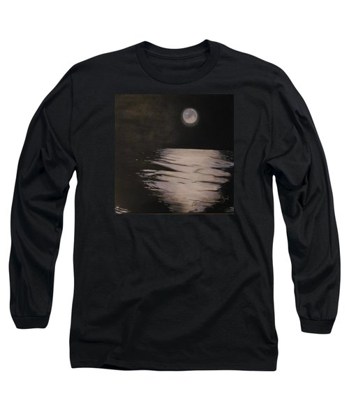 Moon Over The Wedge Long Sleeve T-Shirt