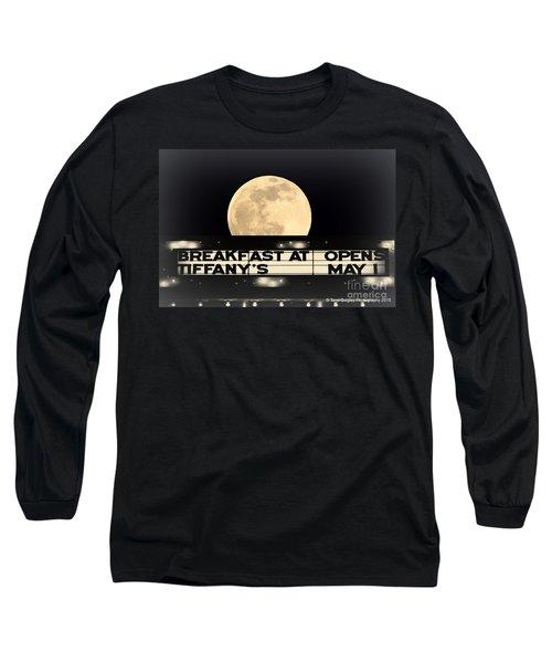 Moon Over Tiffany's Long Sleeve T-Shirt