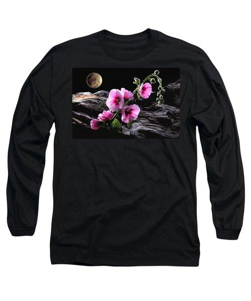 Moon Scape Long Sleeve T-Shirt