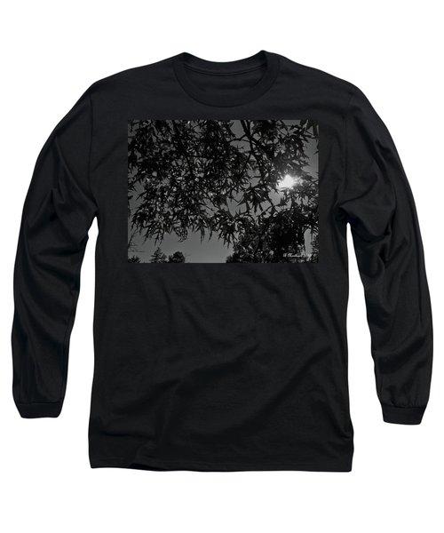 Long Sleeve T-Shirt featuring the photograph Moonlight by Betty Northcutt