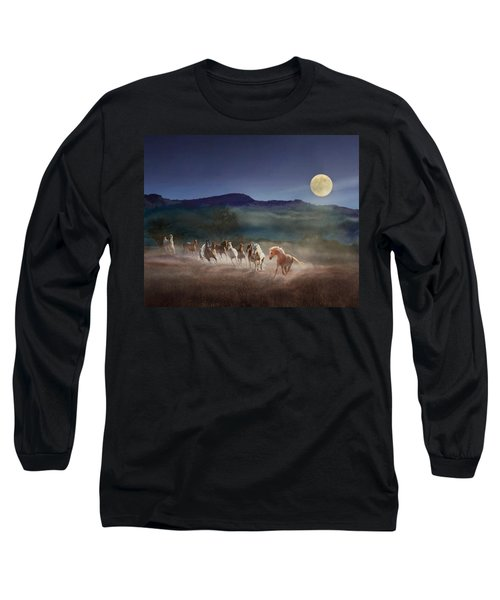 Moonlight Run Long Sleeve T-Shirt