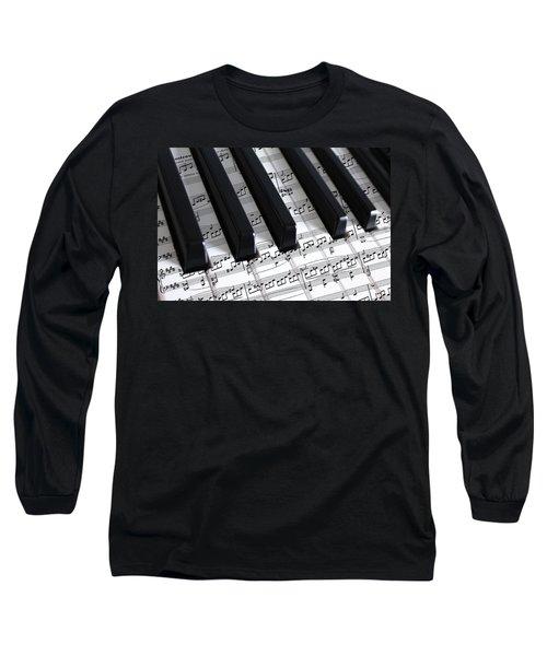 Moonlight Sonata Long Sleeve T-Shirt by Iryna Goodall