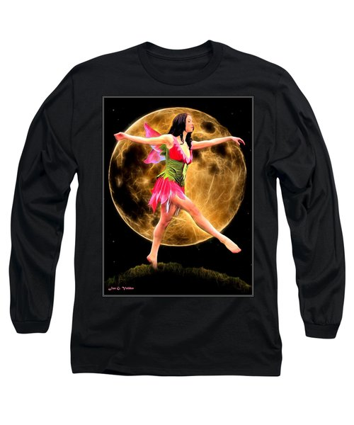 Moonlight Stroll Of A Fairy Long Sleeve T-Shirt