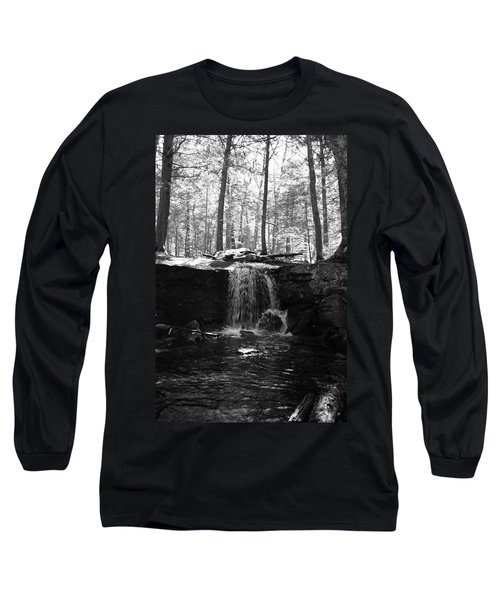 Moonlight Waterfall Long Sleeve T-Shirt