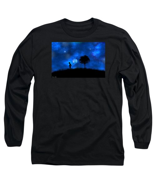 Moonlight Shadow Long Sleeve T-Shirt