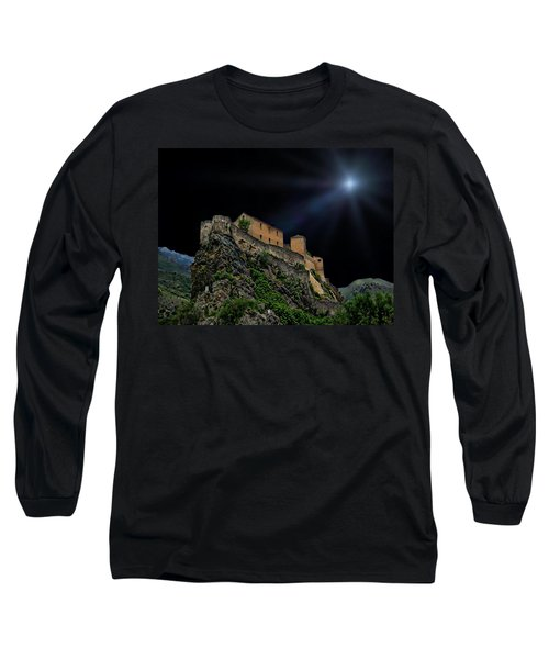 Moonlit Castle Long Sleeve T-Shirt