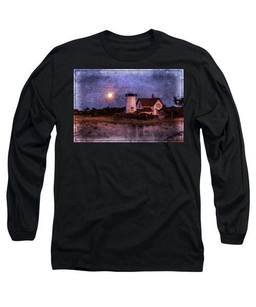 Moonlit Harbor Long Sleeve T-Shirt