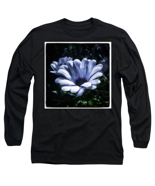 Long Sleeve T-Shirt featuring the photograph Moonlit Petals. From The Beautiful by Mr Photojimsf