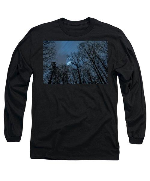Moonlit Sky Long Sleeve T-Shirt