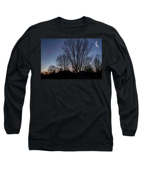 Moonlit Sunrise Long Sleeve T-Shirt