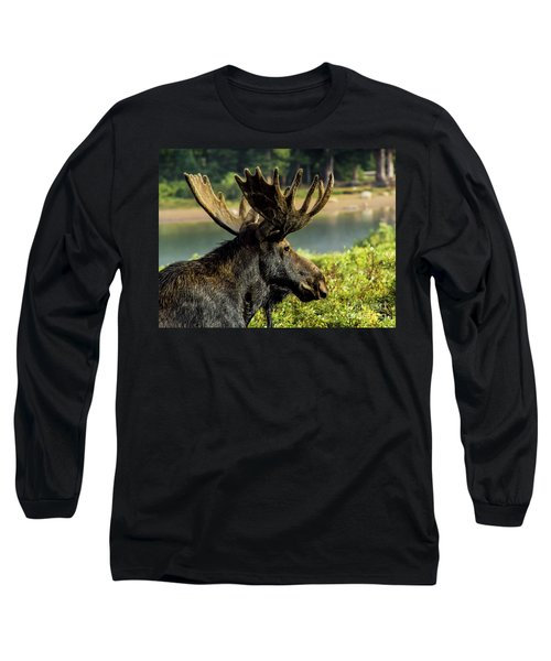 Moose Adventure Long Sleeve T-Shirt