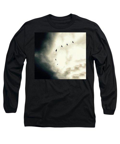 Big Sky Crows Long Sleeve T-Shirt