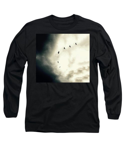 Big Sky Crows Long Sleeve T-Shirt