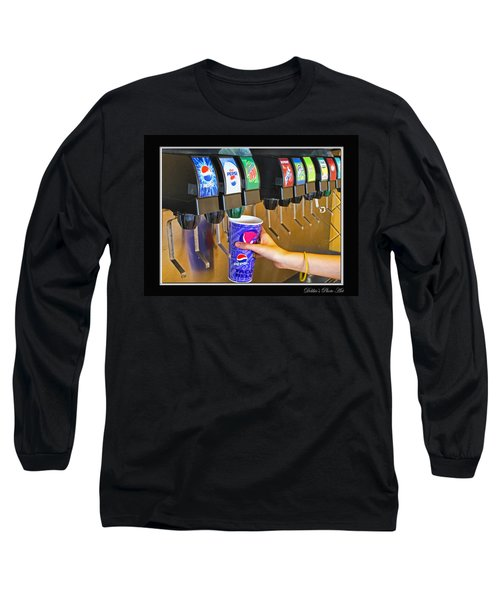 More Ice Please Long Sleeve T-Shirt by Debbie Portwood
