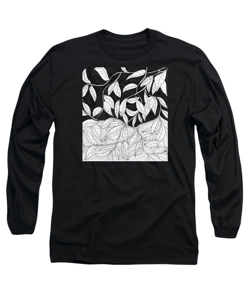 More Leaves Long Sleeve T-Shirt by Lou Belcher