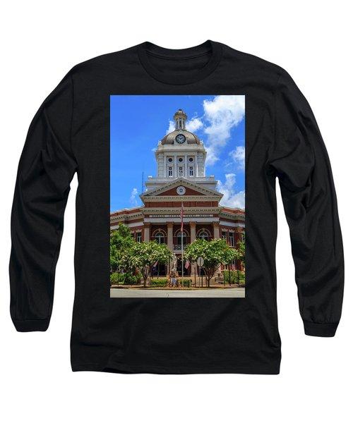 Morgan County Court House Long Sleeve T-Shirt