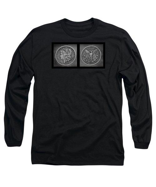 Morgan Silver Dollar--1891 Long Sleeve T-Shirt