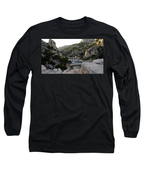 Long Sleeve T-Shirt featuring the photograph Morgiou Village by August Timmermans