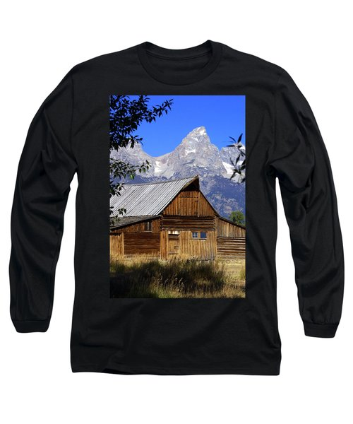 Mormon Row Barn  1 Long Sleeve T-Shirt