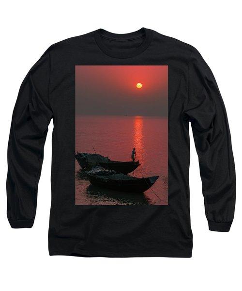 Morning Breaks Long Sleeve T-Shirt