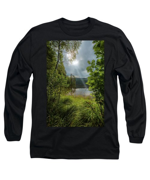 Morning Breath Long Sleeve T-Shirt by Rose-Marie Karlsen