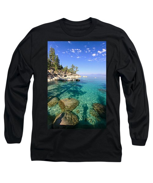 Morning Glory At The Cove Long Sleeve T-Shirt by Sean Sarsfield