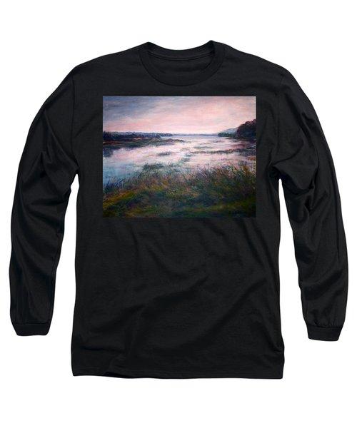 Morning Glow Long Sleeve T-Shirt by Quin Sweetman