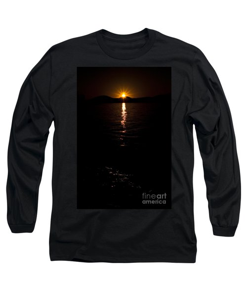 Long Sleeve T-Shirt featuring the photograph Morning Has Broken by Tamyra Ayles