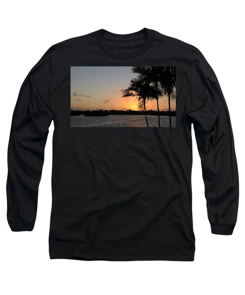 Long Sleeve T-Shirt featuring the photograph Morning Has Broken Two by Pamela Blizzard
