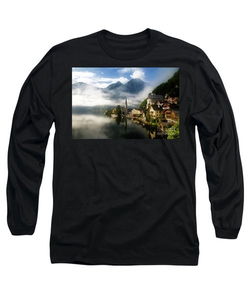 Long Sleeve T-Shirt featuring the photograph Morning In Hallstatt by Scott Kemper