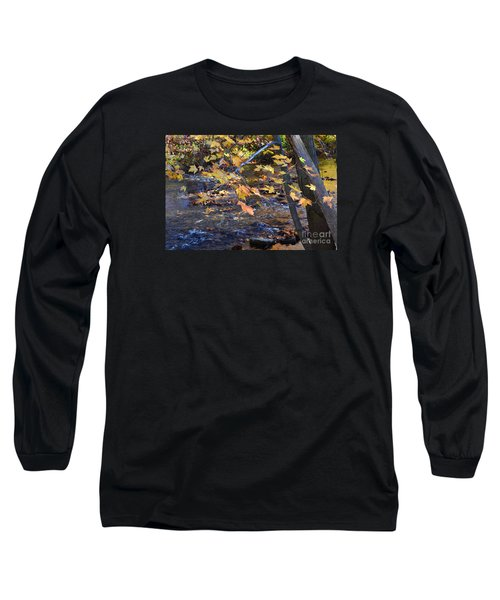 Morning Leaves Falls Park Pendleton Long Sleeve T-Shirt