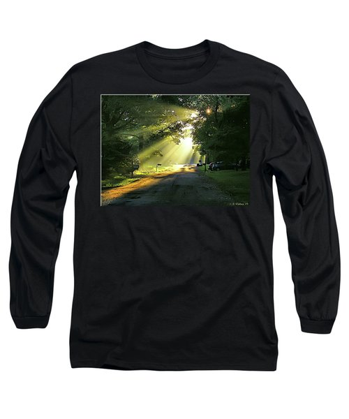 Long Sleeve T-Shirt featuring the photograph Morning Light by Brian Wallace