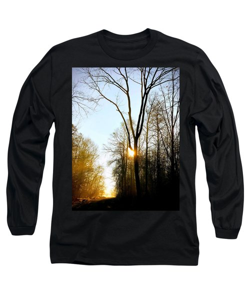 Morning Mood In The Forest Long Sleeve T-Shirt