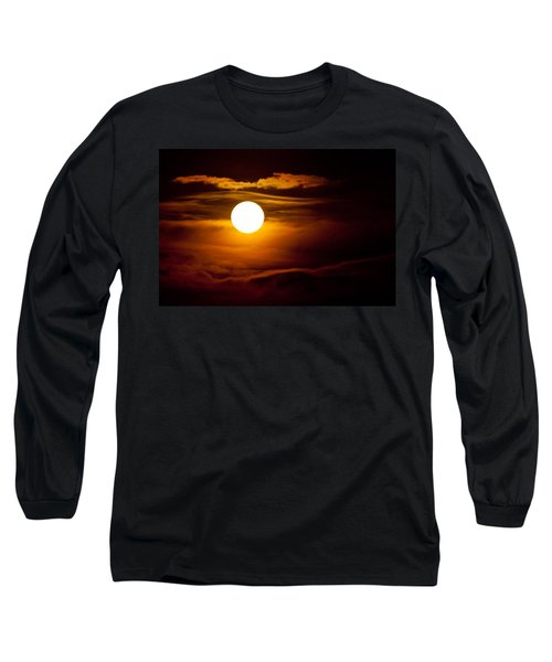 Morning Moonset Long Sleeve T-Shirt
