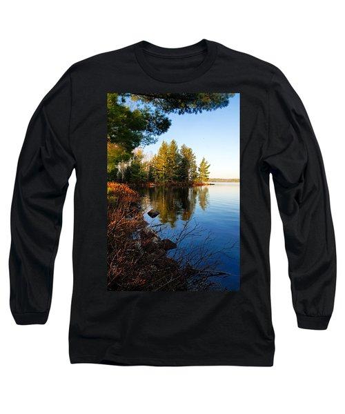 Morning On Chad Lake 4 Long Sleeve T-Shirt