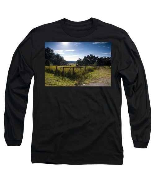 Morning On The Farm Long Sleeve T-Shirt