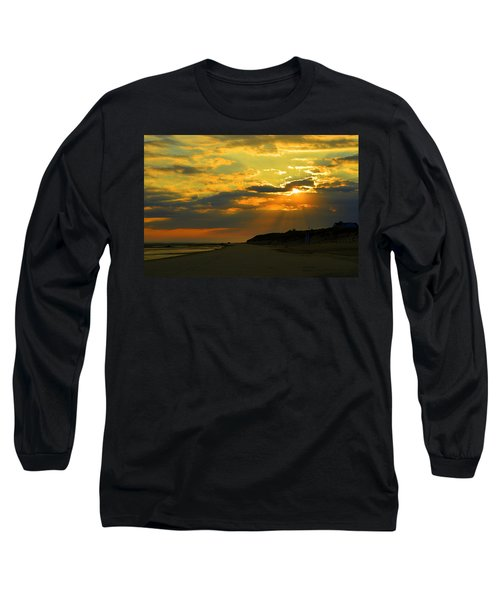Morning Rays Over Cape Cod Long Sleeve T-Shirt
